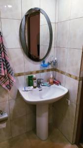 A bathroom at Sara&Aram Apartments