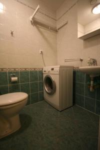Koupelna v ubytování Marianka
