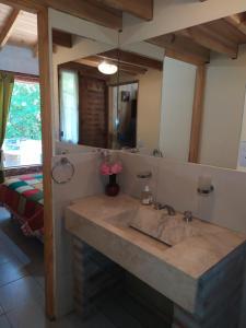 Un baño de Aitue Casas De Vacaciones