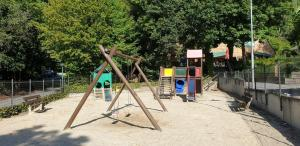 Children's play area at Chalet 127