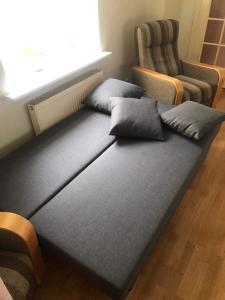 Voodi või voodid majutusasutuse Amazing apartment in heart of Tallinn old town toas
