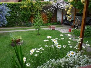 Un jardín fuera de La Casita de Li