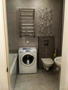 A bathroom at Студия в ЖК Парад Планет