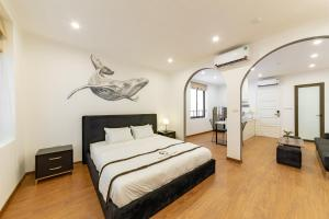 The Cranes' Home - Scandinavian Double Room with balcony