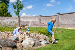 Children staying at Buitenplaats De Mechelerhof