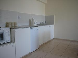A kitchen or kitchenette at Mariela Hotel Apartments