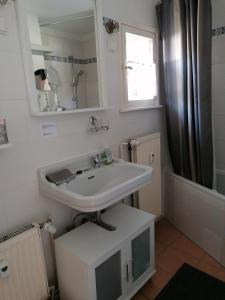 Ein Badezimmer in der Unterkunft Das Fuchsrevier