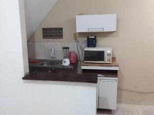 A kitchen or kitchenette at casabarris