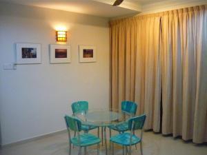 A seating area at Penang Holiday House