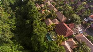 Vue panoramique sur l'établissement Luwak Ubud Villas and Spa