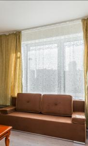 A seating area at Апартаменты Левый Берег Химки