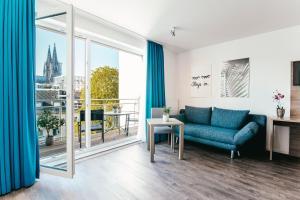 A seating area at Haus am Dom - Apartments und Ferienwohnungen