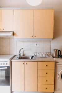 A kitchen or kitchenette at Best House, Nirvana II, Patra