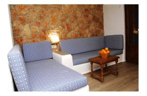 A seating area at Apartmentos Nort