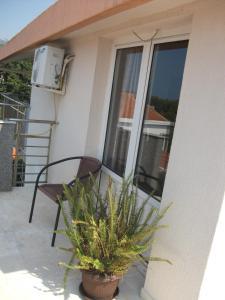 A balcony or terrace at Apartments Katarina