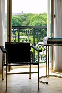 Balcon ou terrasse dans l'établissement Leopold5 Luxe-Design Apartment