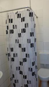 Ein Badezimmer in der Unterkunft Ferienpark Bernstein