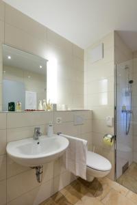 Ein Badezimmer in der Unterkunft Wohntel - wohnen wie im Hotel