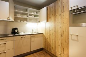 Küche/Küchenzeile in der Unterkunft Wohntel - wohnen wie im Hotel