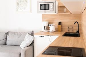 Kuchnia lub aneks kuchenny w obiekcie Apartamenty w Świnoujściu