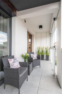 A seating area at Dream4You Apartments