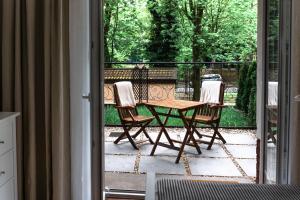 Balkon lub taras w obiekcie Apartamenty w Świnoujściu