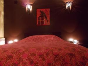 Un ou plusieurs lits dans un hébergement de l'établissement Le Campanin