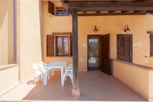 A balcony or terrace at Il Castelluccio