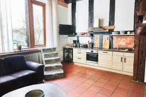 Küche/Küchenzeile in der Unterkunft Hof Bergidyll