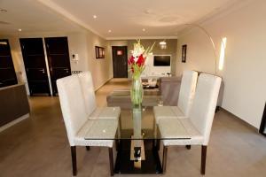 The lobby or reception area at Medina Loft & Spa