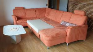 Ein Sitzbereich in der Unterkunft Kaline 2