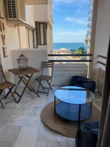 A balcony or terrace at Montemar Puerto