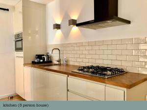 Küche/Küchenzeile in der Unterkunft Es Vedra