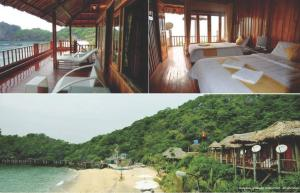 Halong Bay Deluxe Cruise Bungalow on Island
