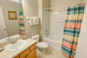 A bathroom at Coral Cay by Florida Star Vacations