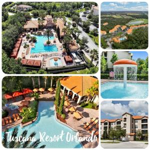 A view of the pool at Magical Vacations at Tuscana Resort or nearby