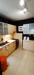 A kitchen or kitchenette at Amazing apartment in the heart of Athens
