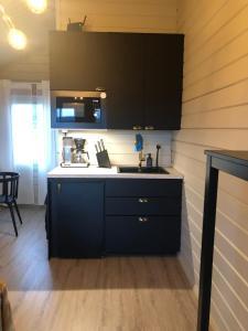 A kitchen or kitchenette at Niuron mökit