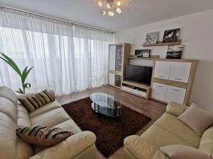 A seating area at Kvarner Sea View Apartment Rijeka