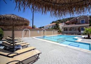The swimming pool at or near Maria Apartments