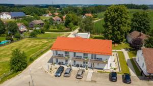 A bird's-eye view of Holledau-Apartments Familie Gmeineder