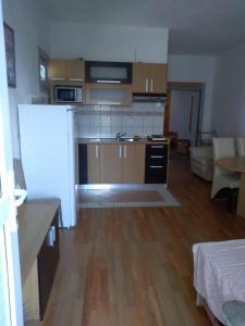 A kitchen or kitchenette at Apartment Bušljeta