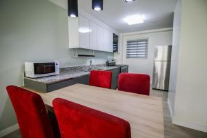 A kitchen or kitchenette at Oceanview Hotel and Residences