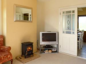 A television and/or entertainment center at Ballycroy Bungalow