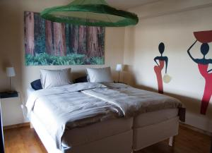 A bed or beds in a room at Quinta Serra De Sao Mamede