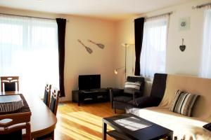 Posezení v ubytování Apartmán Adam