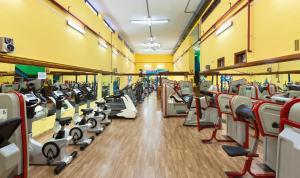 Gimnasio o instalaciones de fitness de Apartamentos Casablanca
