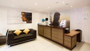The lobby or reception area at Staycity Aparthotels West End