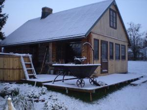 Auru Cīruļi зимой