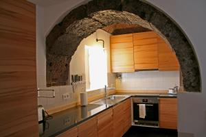 A cozinha ou kitchenette de Casa de Almagreira